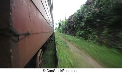 train, Sri Lanka
