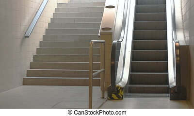 Train Station Escalators