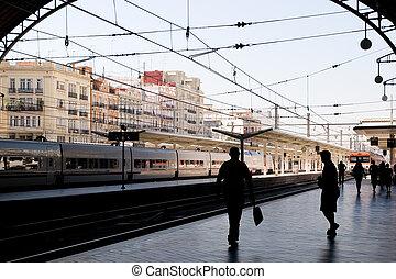 Train Station Valencia