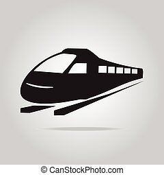 Train symbol ,icon illustration