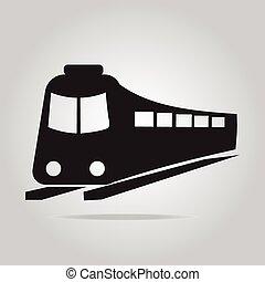 Train symbol icon