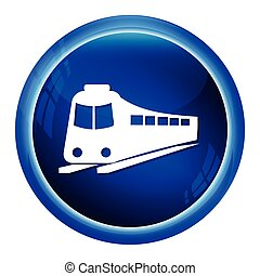 Train symbol ,icon vector illustration