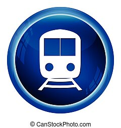 Train symbol icon vector illustration