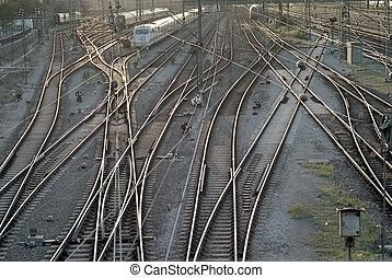 Train Tracks in Munich