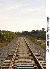Train tracks - Railroad tracks