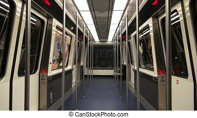 Train, Tram, Subway Cabin, Mass Transit