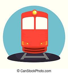 train transport public icon
