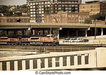train transportation - rail tranport