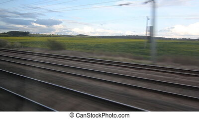 Train Travel UK. Rails.