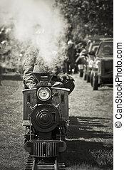 train, vapeur