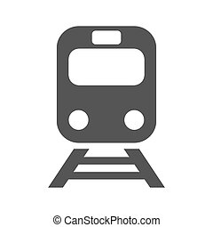 Train vector icon on white background. Flat vector train icon symbol sign. EPS 10