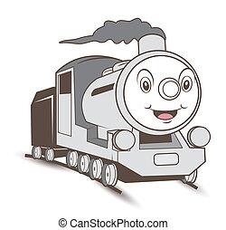 train, vieux