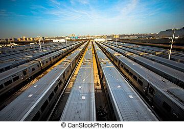 train yard - Train yard New York City