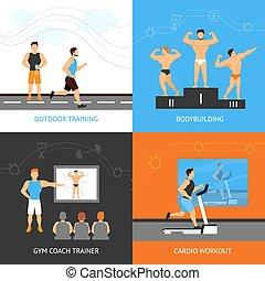 Trainer Design Concept Set
