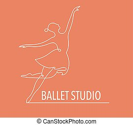 trainer, web, bunte, leute, tanz, abstrakt, turnhalle, rennender , vektor, fitness, logo, design., logo., symbol, ikone