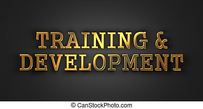 Training and Development. Business Concept.