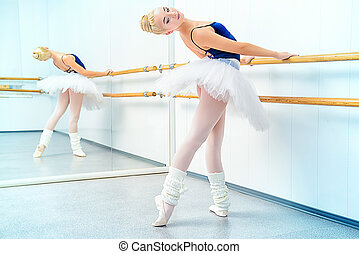 training ballerina