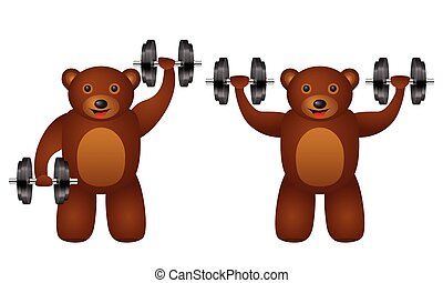 training bear set
