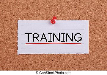 training, begriff