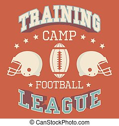 Training camp american football