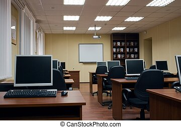 Training class with few computers