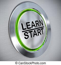training, e-lernen, begriff, online
