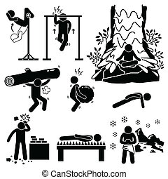 training, einsiedler, geistig, physisch