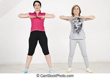 Training exercises women