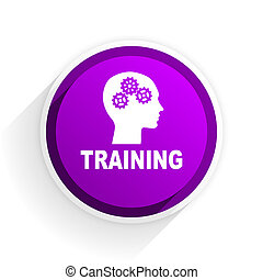 training flat icon