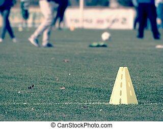 Training Fussball Jugend Sitzung Fussballspiel Vorher