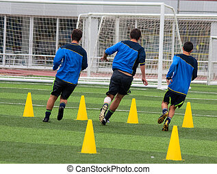 training, fußball