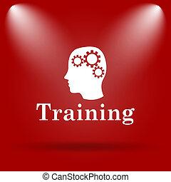 training, ikone