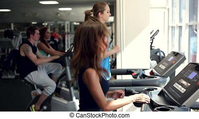 Training in a Gym