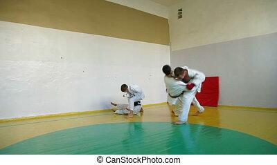 training martial arts