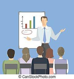 training., pessoas negócio
