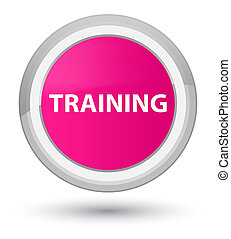 Training prime pink round button