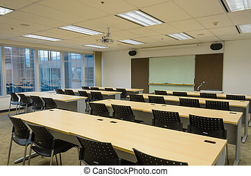 training room in office building