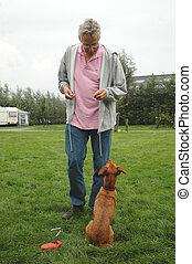 training-the-dog
