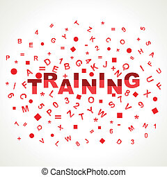 Training word with in alphabets