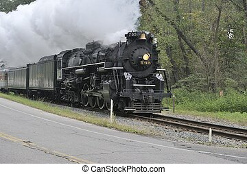 Trains - Cuyahoga Valley National Park (Ohio) Railroad...
