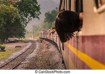 Trains run.