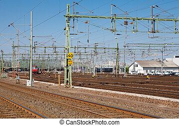 trainyard, 在, 瑞典