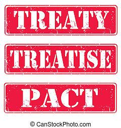 traité, pacte, traité