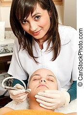 traitement cosmétique