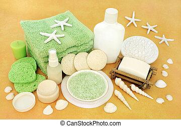 traitement, skincare, produits, beauté naturelle