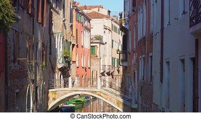 traitional Venice house, Italy - traitional Venice canal...