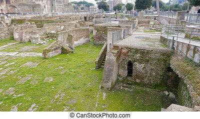 Trajan Forum, Roma, Italy. UltraHD (4K)