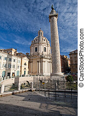 Trajan's Column on Capitoline Hill