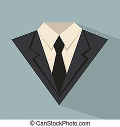 traje, empresa / negocio