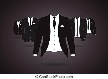 traje, grupo